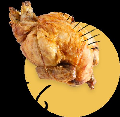 vendita polli arrosto